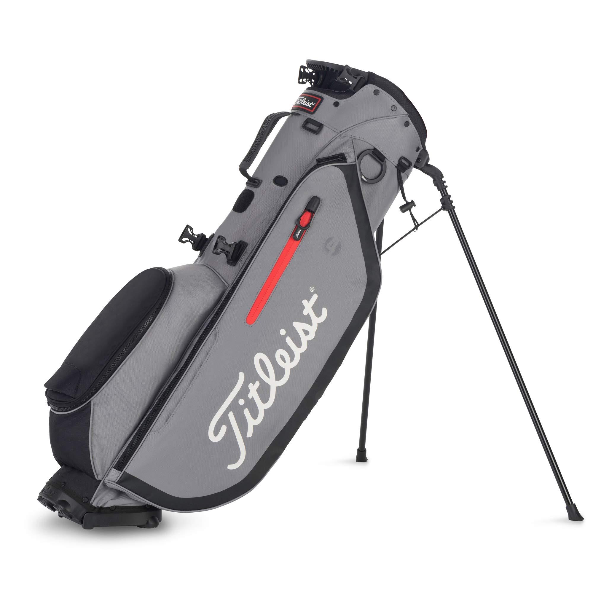 Titleist Players 4 Golf Bag Sleet / Black by Titleist