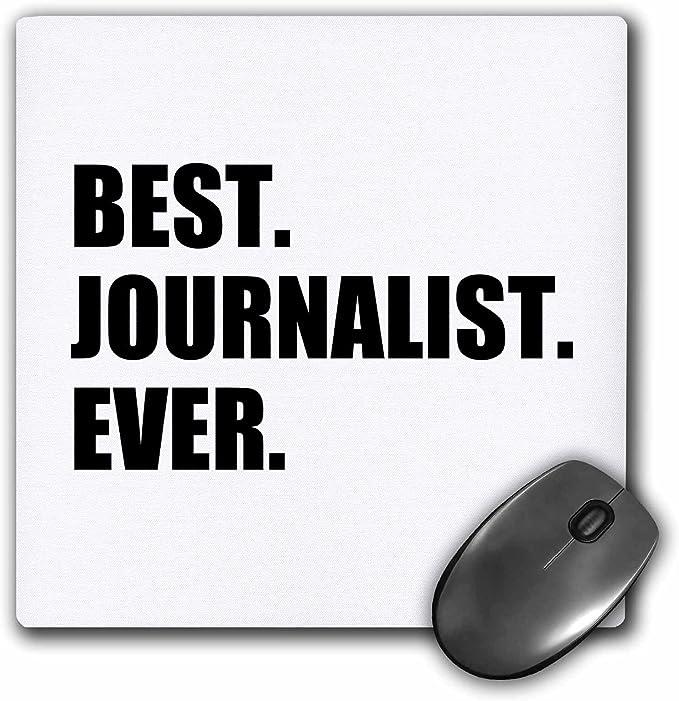 3dRose mejor periodista nunca divertido regalo para talento ...
