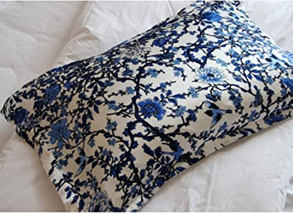 Silk Oxford Pillowcase Floral Printed Pillow Cover Envelope Back Magnificent Envelope Back Pillow Cover
