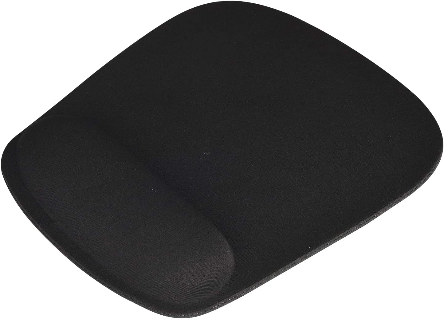 iDream365 Mouse Pad with Wrist Support,Ergonomic Mouse Pad with Non-Slip Rubber Base and Raised Memory Foam for Laptop, Computer, Gaming,Home, Office-Black