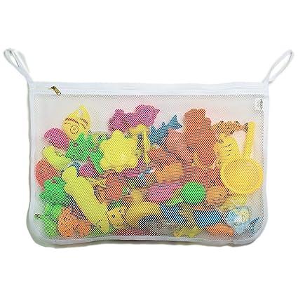 Amazon.com: tenrai juguete de baño organizador, juguete ...
