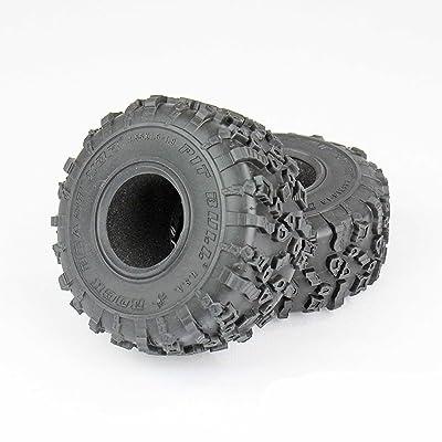 "Pit Bull RC Pit Bull Pb9014Ak Rock Beast 1.9"" XOR Tires Alien Kompound with Foam, 2 Pcs: Toys & Games"