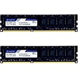 Timetec Hynix IC 16GB Kit (2x8GB) DDR3 1333MHz PC3-10600 Unbuffered Non-ECC 1.5V CL9 2Rx8 Dual Rank 240 Pin UDIMM…