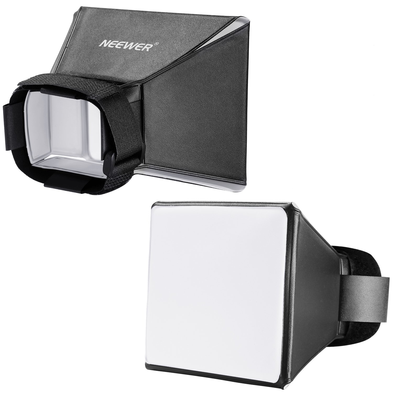 Neewer/® 4x5//10cmx13cm Difusor Softbox de Flash Pegable Universal para Canon Nikon Sony Sigma Olympus Minolta Sunpak DSLR Cameras como Canon 580EX 550EX 540EZ 430EX 420EX 380EX 430EZ Nikon SB-800 SB-600 SB-80DX SB28 SB26 SB25 SB24