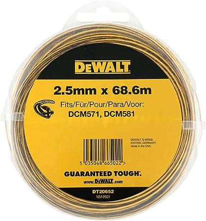 2x DEWALT DT20651-QZ Ligne Coupe-fil 2 mm 68.6 M DEWALT DCM561 DCM561P1 DCM561PB