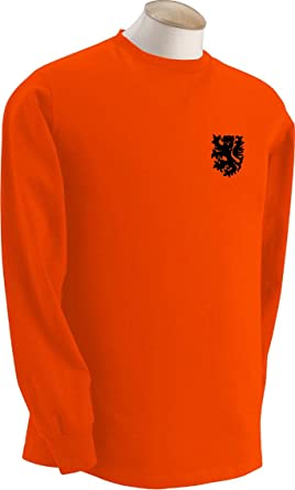 Invicta Screen Printers Dutch Holanda Netherlands Equipo De Fútbol Retro Manga Larga Camiseta - Todos los tamaños Disponibles: Amazon.es: Deportes y aire ...