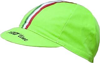 Cappellino SOTTOCASCO Ciclismo PRO'line Tricolore Verde Fluo New Line PRO' line