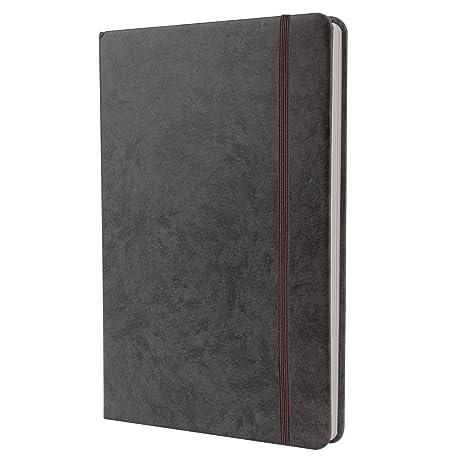 Amazon Com A5 Journal Hardcover Notebook Elastic Ribbon Travel