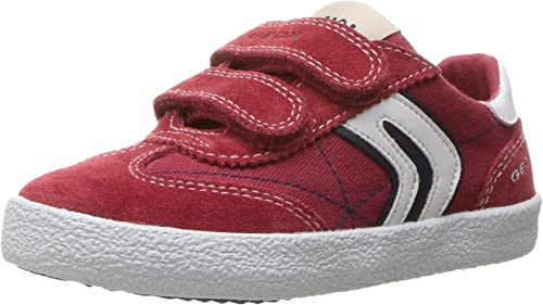Condensar Casi Autor  Geox Jr Kilwi Boy, Boys' Low-Top Sneakers: Amazon.co.uk: Shoes & Bags
