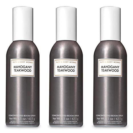 Bath Body Works Mahogany Teakwood Room Spray Lot Of 3