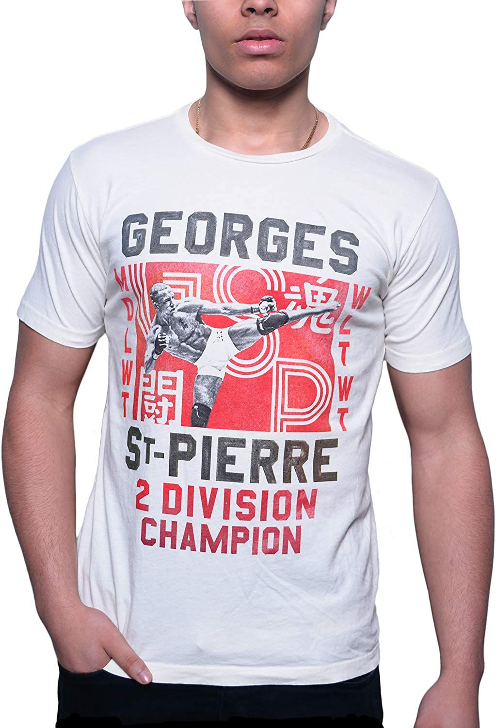 Roots of Fight Officially Licensed Men's Georges St-Pierre Tees/Tanks