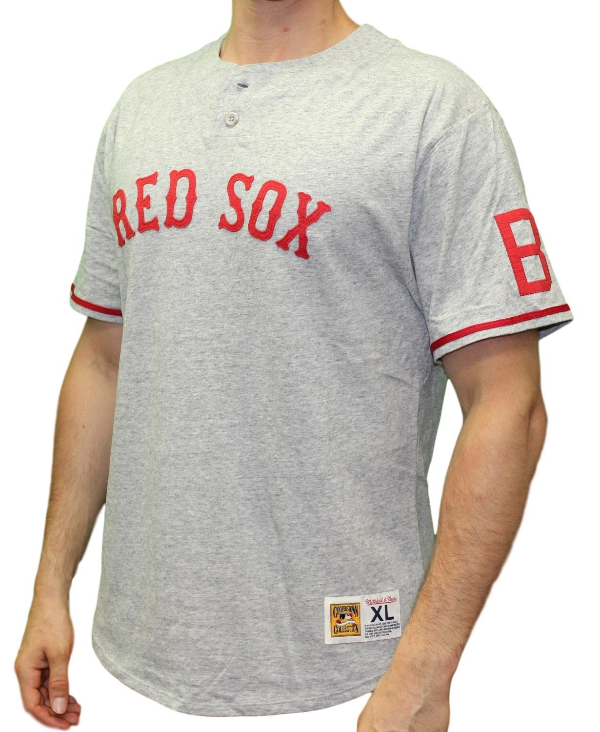 6584ad05 Retro Boston Red Sox Shirts - DREAMWORKS