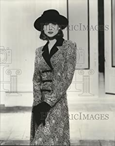 Vintage Photos 1995 Press Photo Fit and Flare Dress by Lanz Dresses Fall1994 Fashions