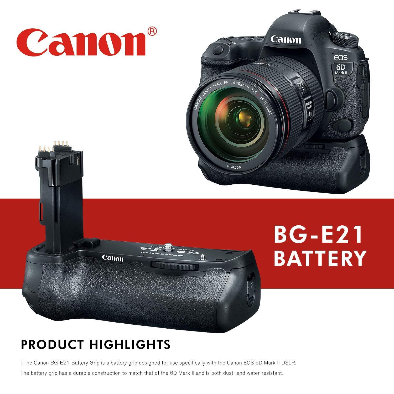 Canon BG-E21 - Empuñadura de batería para cámara réflex Digital ...
