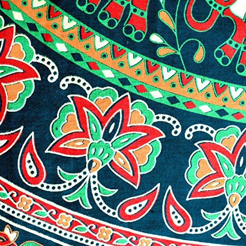 Sttoffa Femmes Robe Longue Robe Vert Rajasthani Kurti D6