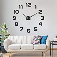 SOLEDI Reloj de Pared 3D DIY Reloj