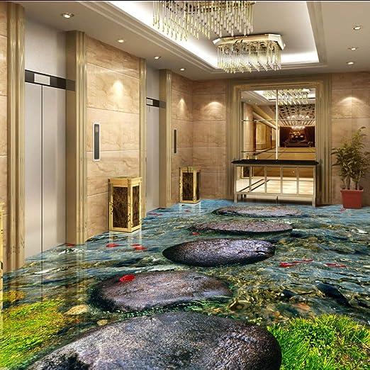 Guyuell Custom Stream Stone Photo Wallpaper Murales Baño Anti ...