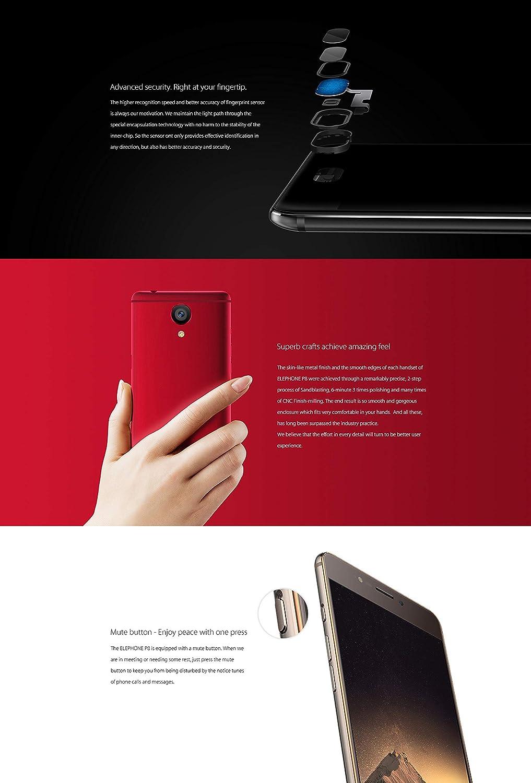ELEPHONE P8 Teléfono Libre - Android 4G LTE Dual SIM Smartphone ...