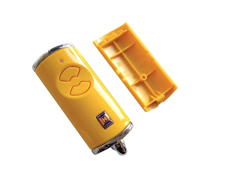 H/örmann Handsender Cover HSE2BS Leer Geh/äuse ohne Batterie ohne Platine Ersatzteil Ober und Unterschale