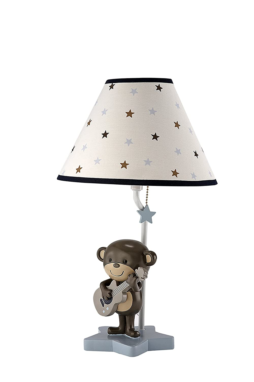 Amazon carters monkey collection lamp and shade baby geotapseo Gallery
