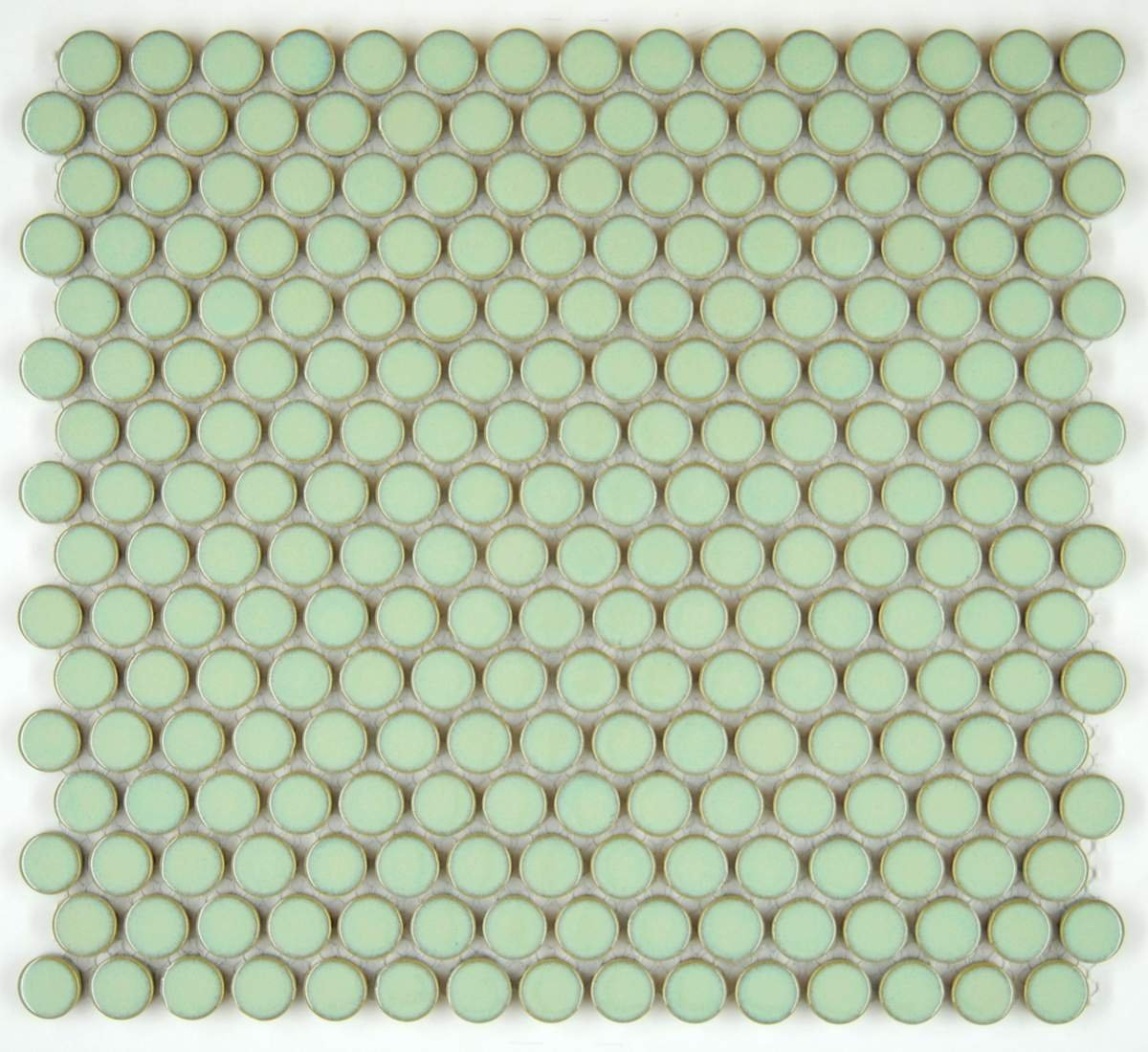 Vogue tile penny round vintage green glossy porcelain mosaic for vogue tile penny round vintage green glossy porcelain mosaic for bathroom floors and walls kitchen backsplashes pool tile amazon dailygadgetfo Gallery