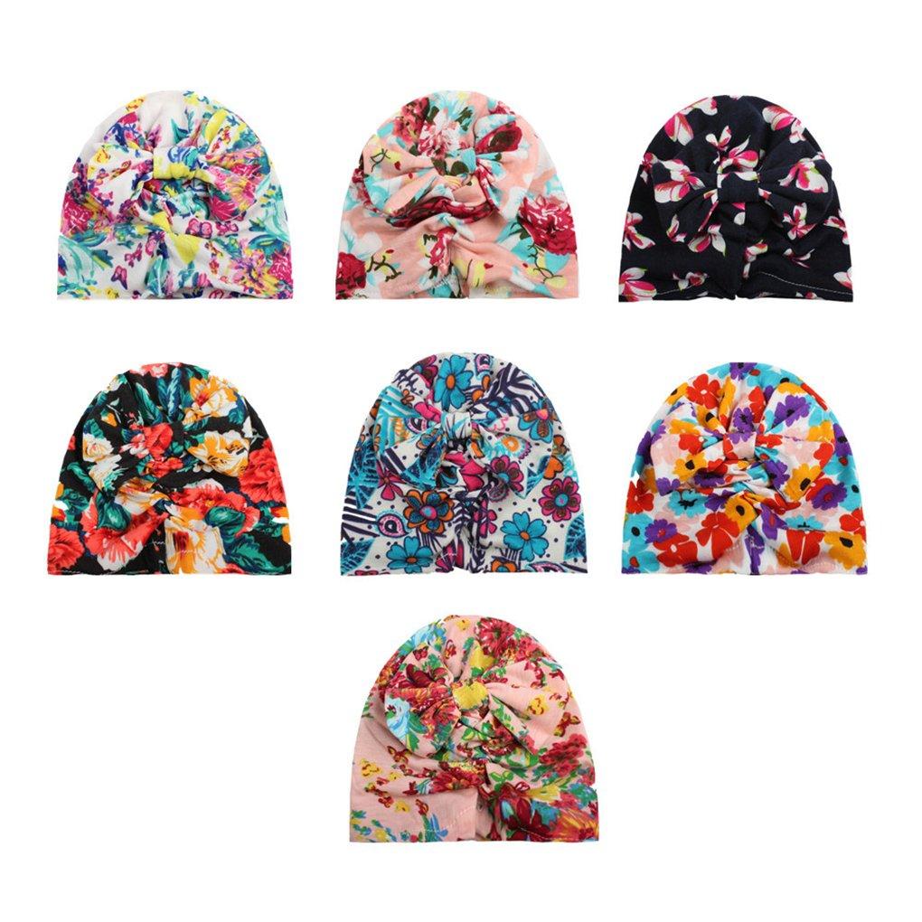 BrilliantDay Set di 7 pezzi Berretto bambini Soft Touch Cappello unisex per neonati e bambini#1