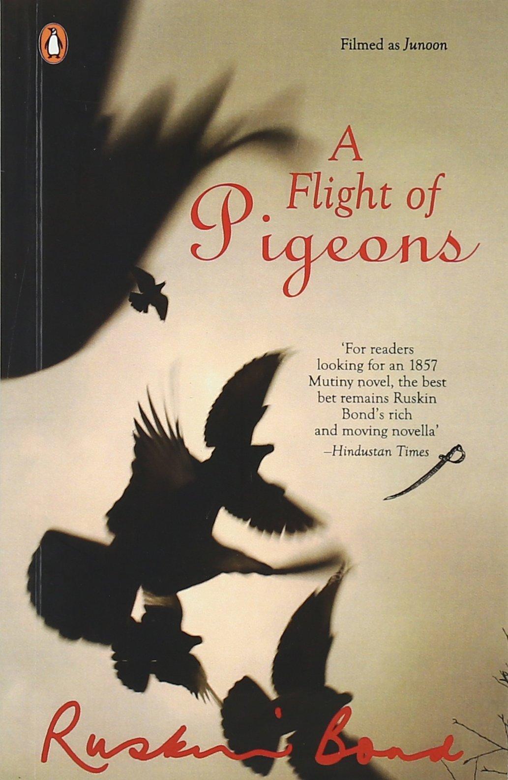 Ruskin bond books -A flight of pigeons