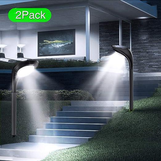 LED esterno faretti Stand Lampada Cortile illuminazione vialetto ENERGIA LAMPADA RISPARMIO