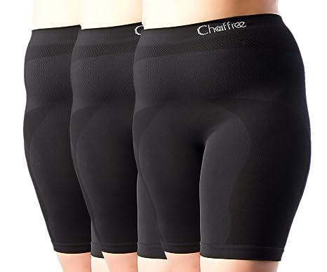 Chaffree – Femme Cuissard Boxer anti frottements Fitness Mode Sous-vêtements  pour femmes Lingerie Slip b9aa923b2e5