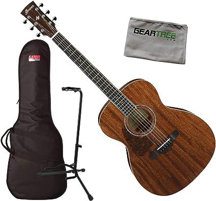 Ibanez AC340L OPN - Guitarra acústica con bolsa, soporte y gamuza ...