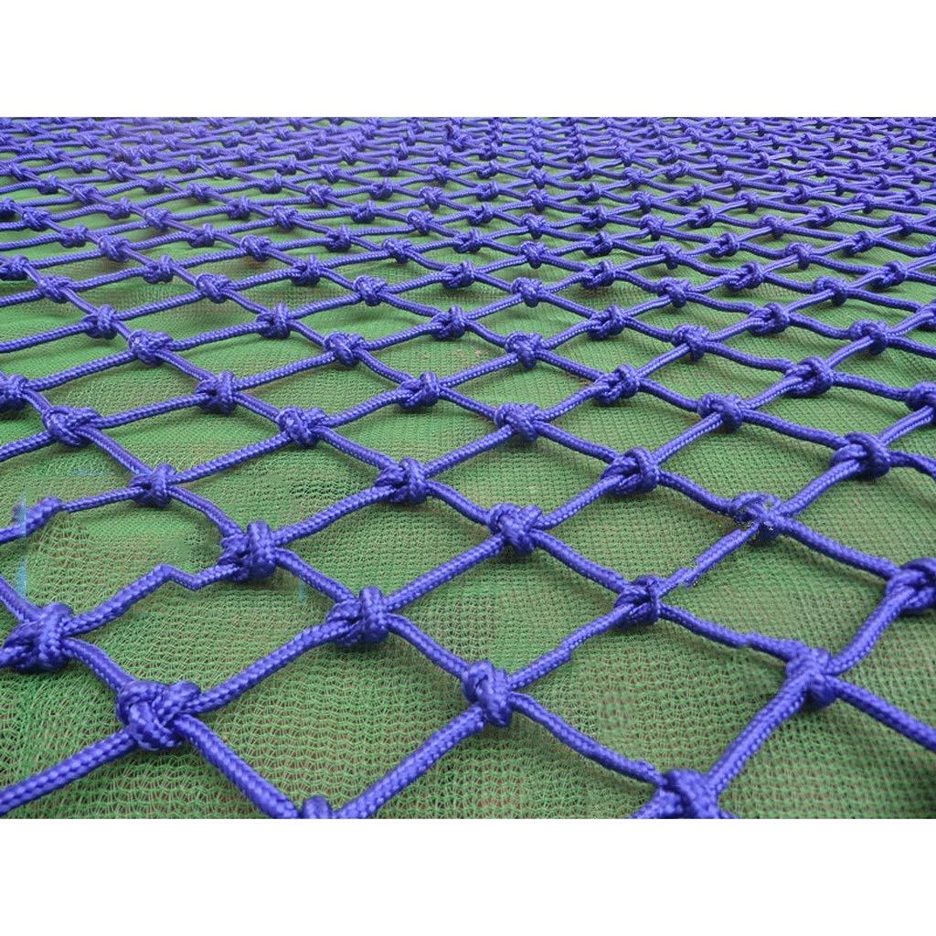 - Filet de clôture bleue décoration intérieure filet d'escalade filet de prougeection d'escalade pour enfants, balcon d'escalier anti-chute filet de nylon de couleur nette décorative résistant à l'usure a 33m(9.8ft