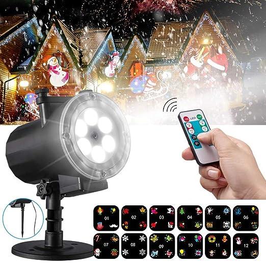 HD Luz del Proyector Mejorada Proyectores LED Focos con 12 ...