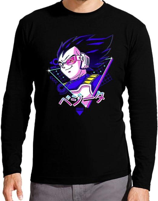 Camiseta Manga Larga de NIÑOS Dragon Ball Goku Vegeta Super Gohan: Amazon.es: Ropa y accesorios