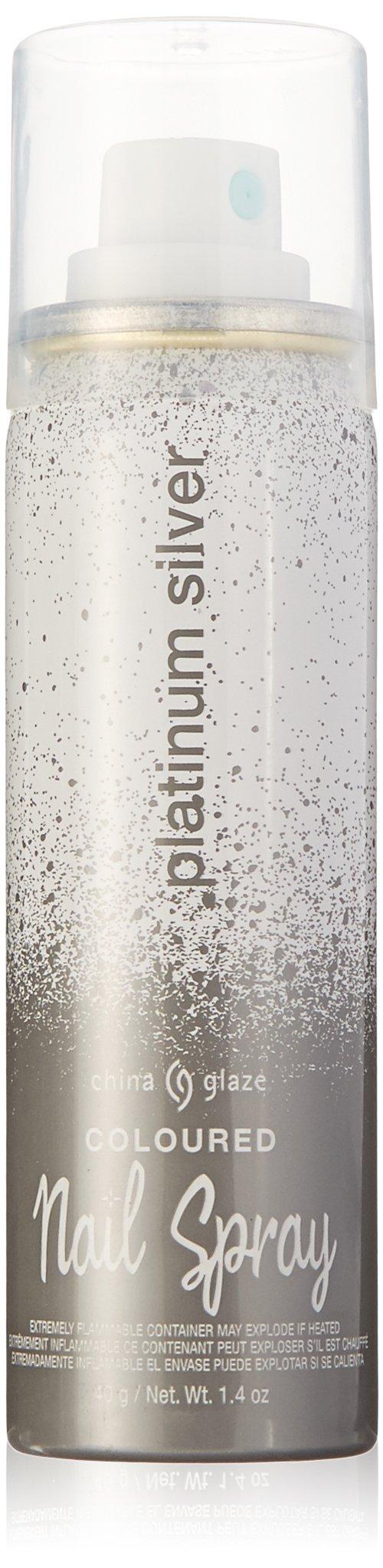 Amazon.com : Nail Spray Nail Polish, Magenta Shimmer, 1.4 Fluid ...