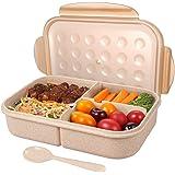 Kurtzy Wheat Straw Lunch Tiffen Box for Office School (1200 ml)