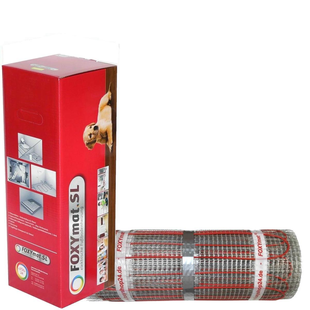 200 Watt pro m/²,f/ür die schnelle Erw/ärmung ohne Thermostat 0.5m x 7m 3.5 m/² FOXYSHOP24-elektrische Fu/ßbodenheizung PREMIUM MARKE FOXYMAT.SL RAPID
