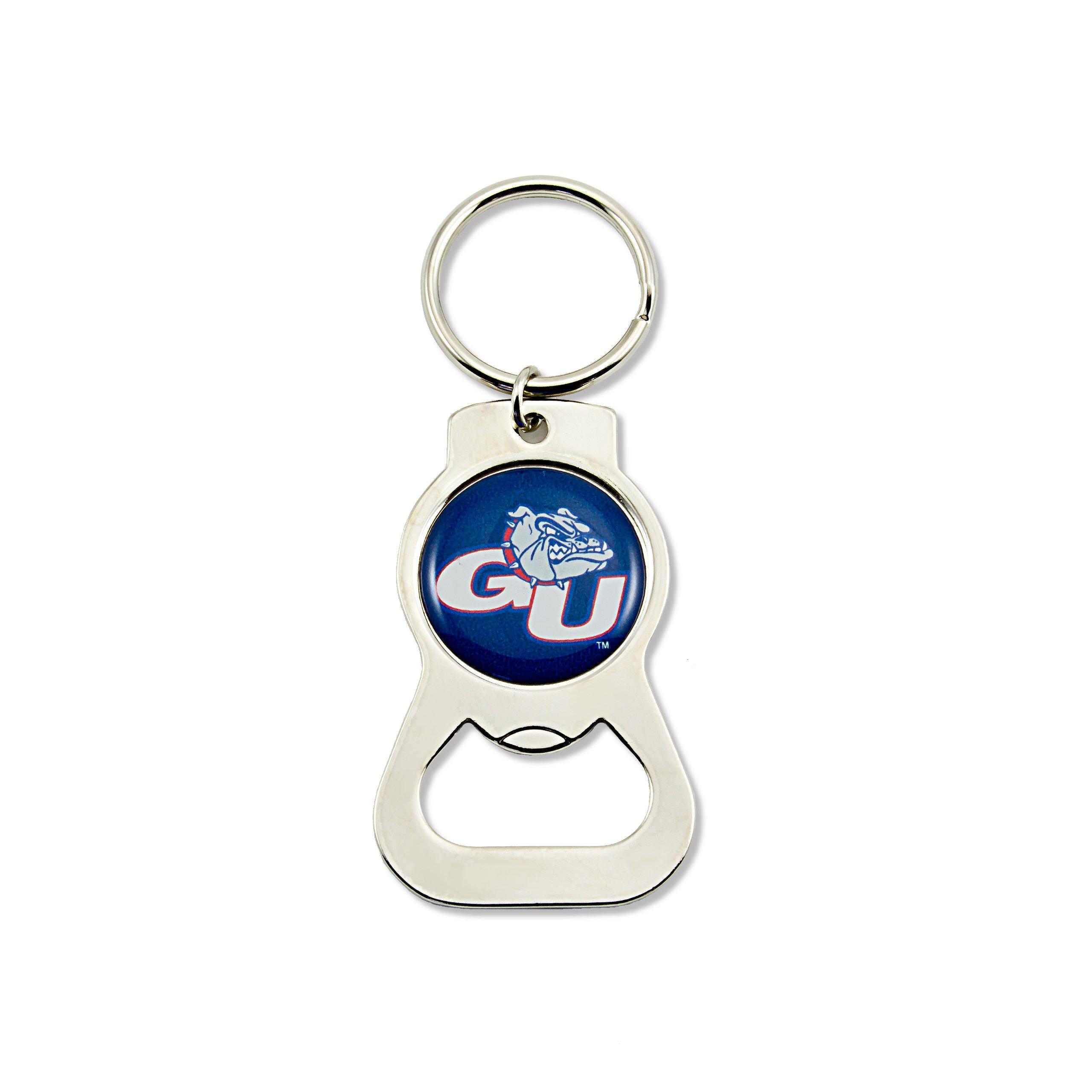 aminco NCAA Gonzaga Bulldogs Bottle Opener Key Ring