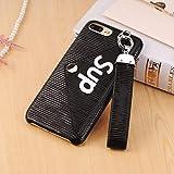 89ca9ea6ef iphone 7 ケース Sup-Black カッコいい 携帯カバー iphone 8 plus おしゃれ スマホケース ストラップ