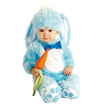 Fancy Me - Disfraz de conejo de pascua para bebés, color rosa o azul