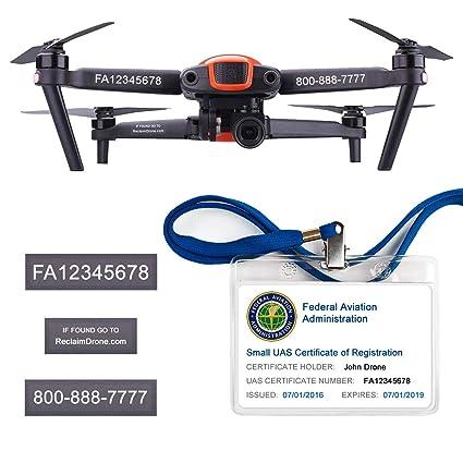 Amazon com: Autel Robotics EVO - FAA Drone Identification