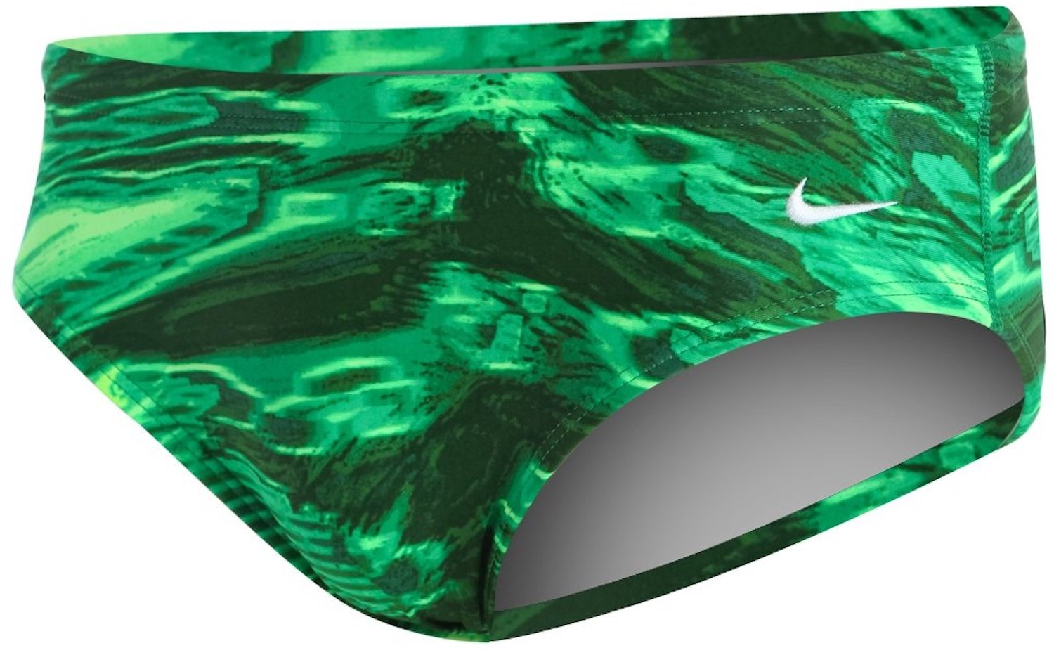 NIKE SWIM Electric Anomaly Male Brief,Court Green (313),34