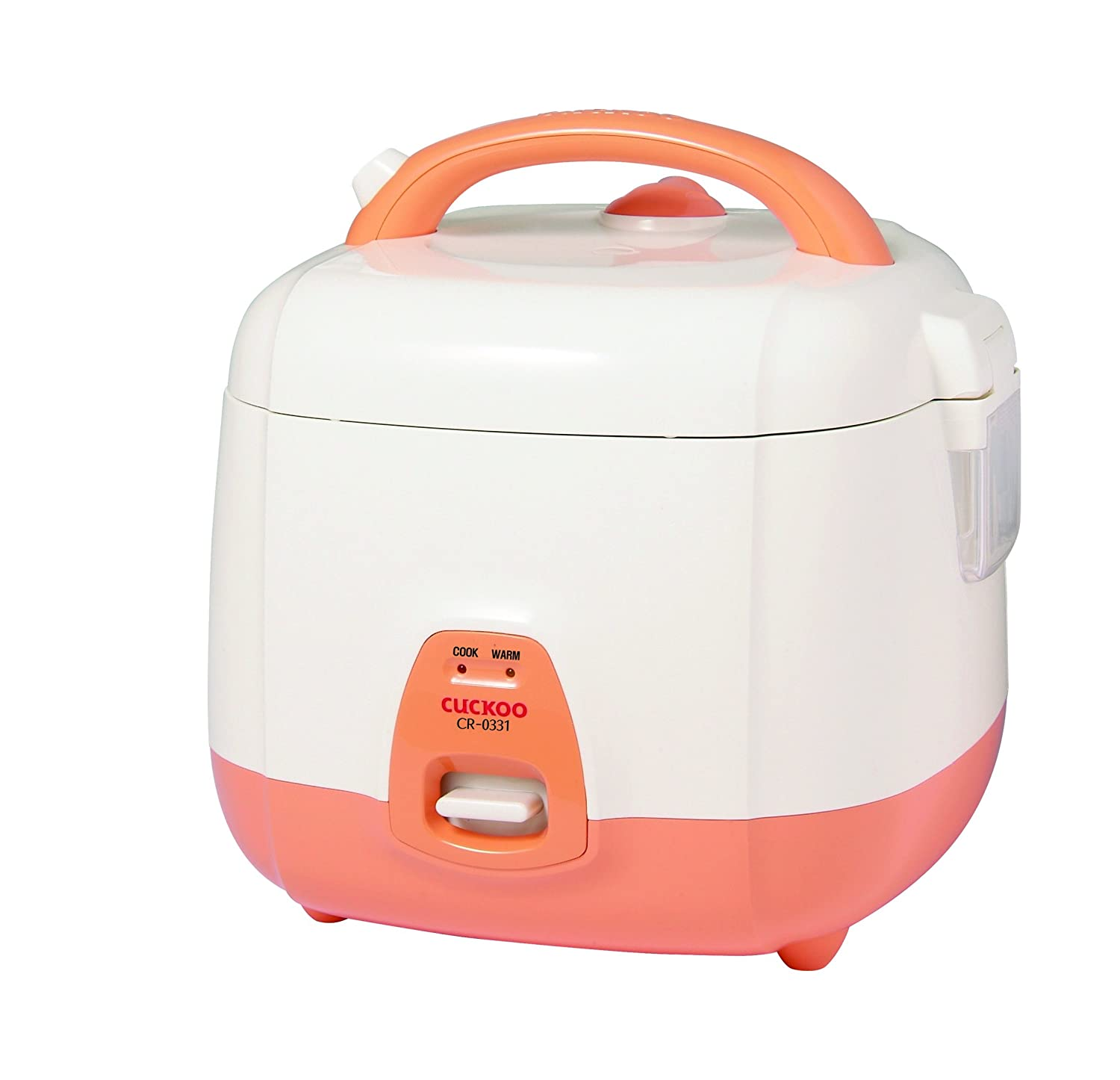 Cuckoo CR-0331 Rice Cooker 3 Cups Uncooked (1.5 Liters / 1.6 Quarts) Orange