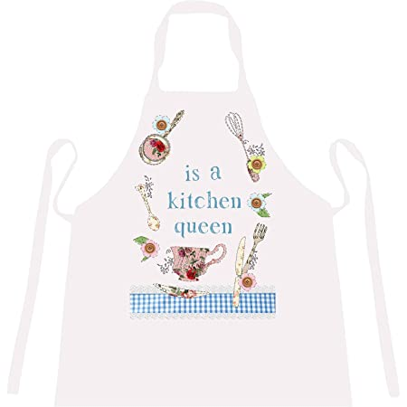 cookify personalised is a kitchen queen aprons fun gifts for rh amazon co uk