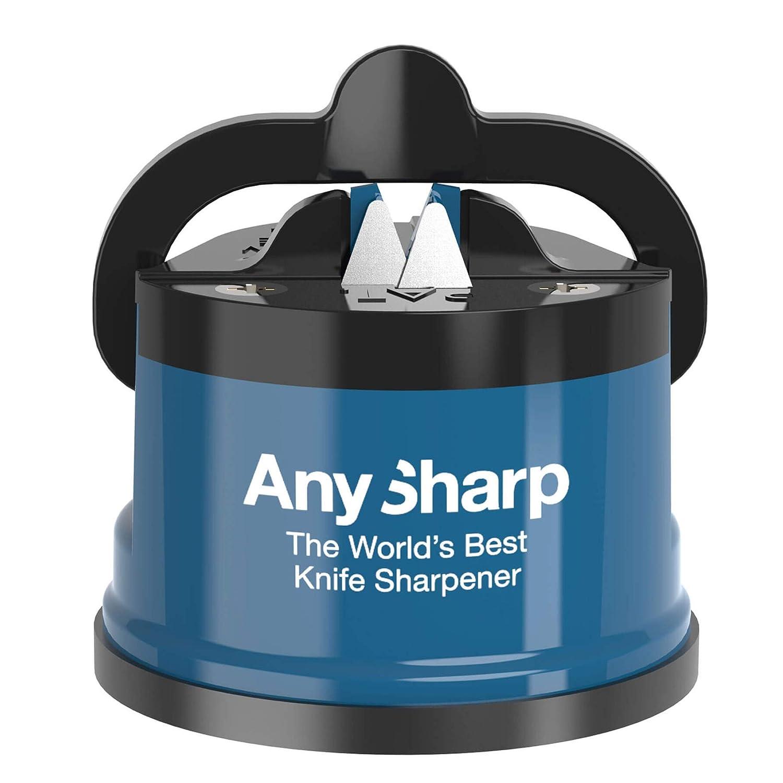 Compra AnySharp Afilador De Cuchillos (Azul) en Amazon.es