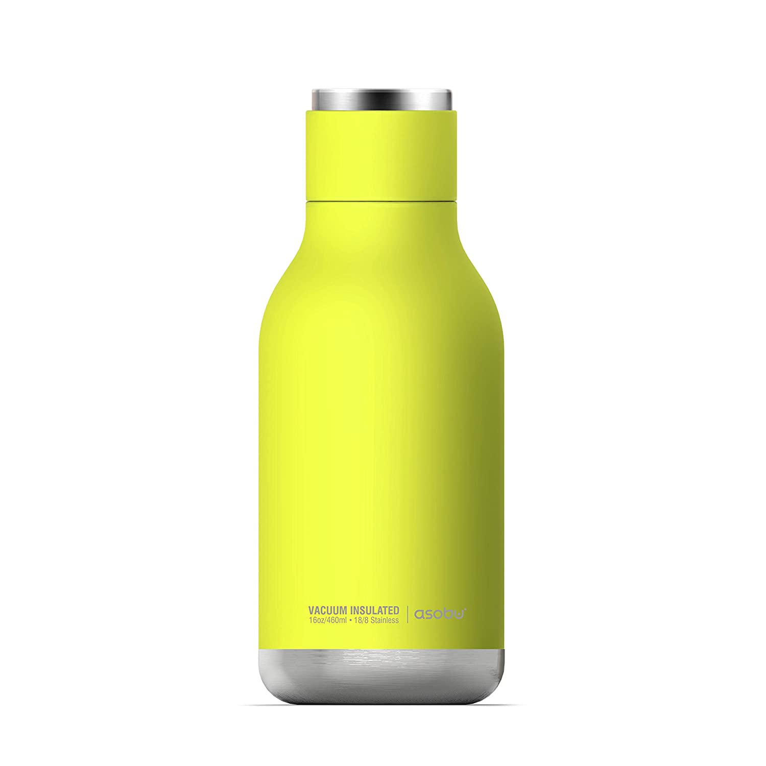 Asobu asobu Urban Insulated and Double Walled Stainless Steel Bottle 16 Ounce,