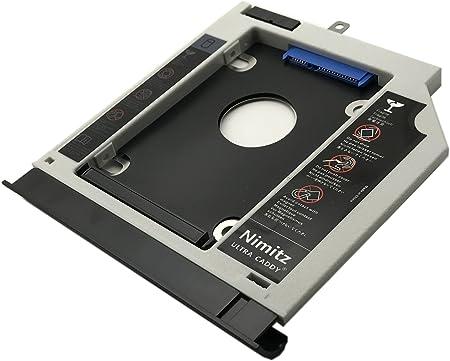 Nimitz 2ª HDD SSD Disco Duro Caddy para Lenovo Ideapad 310 510 con ...