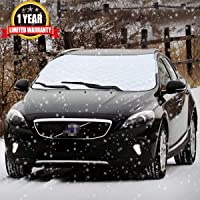 Deals on TPHC Car Snow Cover Car Smart Cover Windshield Cover