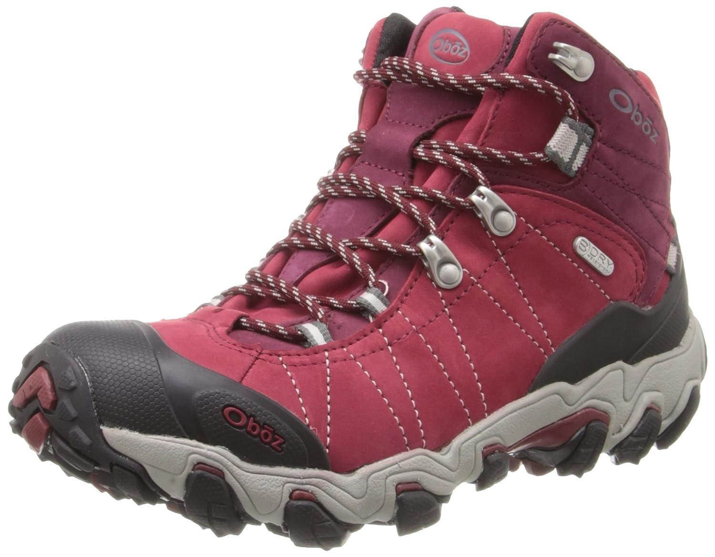 Oboz Women's Bridger B-DRY Hiking Boot B01MSDFRC2 7 C US|Rio Red
