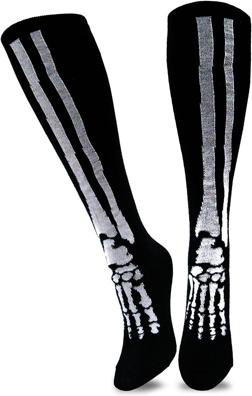 TeeHee Novelty Halloween Skeleton Fun Socks