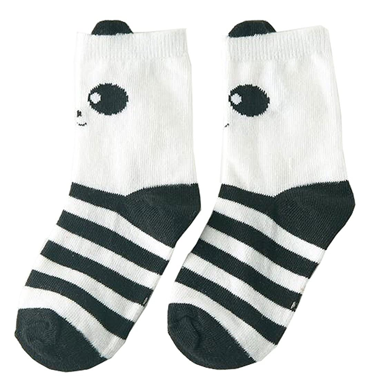 Lucky staryuan 8 Pairs Boys Girls Cotton Socks Cartoon uwz34et35